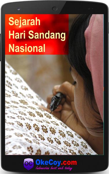 sejarah hari sandang nasional indonesia