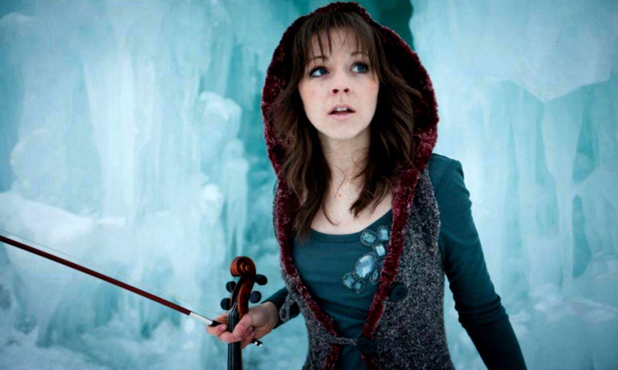The LDS violinist Lindsey Stirling Dan Peterson