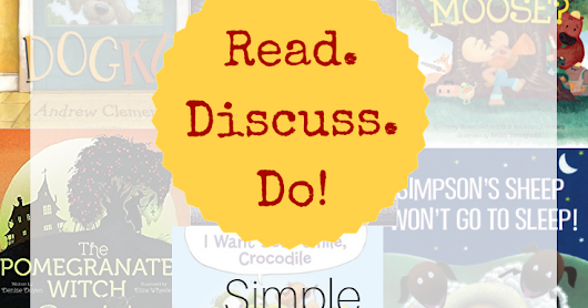 Read, Discuss, Do! Activities that You Can Do Anywhere