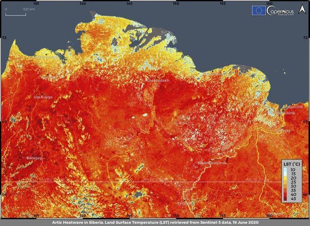 Βράζει η Αρκτική: Σε επίπεδα ρεκόρ η θερμοκρασία με 38 βαθμούς Κελσίου