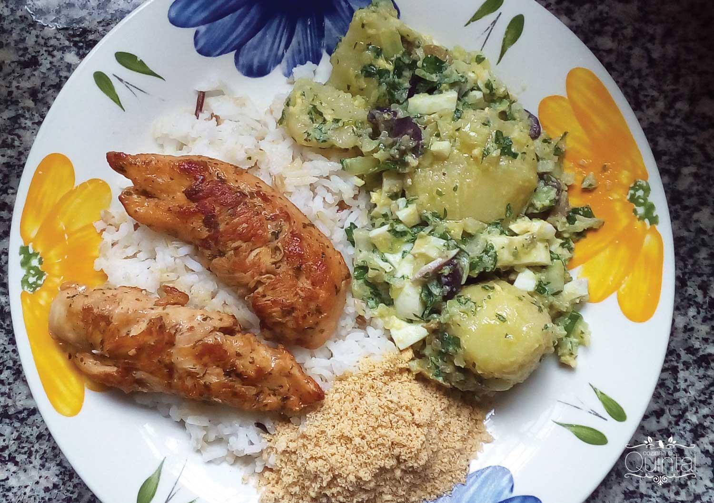 A melhor salada de batatas para acompanhar o seu churrasco ou para vender na Cozinha do Quintal