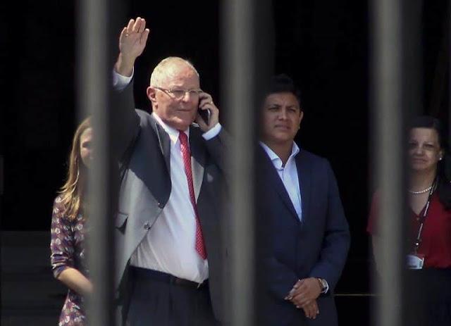 Autoridades judiciales peruanas tratan de evitar que corrupto expresidente escape a su guarida en EE.UU.