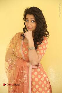 Telugu Actress Santoshi Sharma Latest Stills in Salwar Kameez at HBD Movie Teaser Launch  0016.JPG