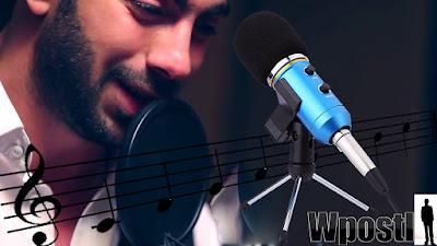 Audio USB Condenser Sound Studio Recording Vocal Microphone With Stand Mount : ميكروفون احترافي ويعطي صوت نقي وذو جودة عالية بسعر معقول جدا !! مع مكثف USB يمنح تحكم في مستوى تسجيل الصوت و تاثير صدى الأستديو  من خلال أزرار مدمجة ويحتوي على تقنية عزل الضوضاء  ياتي بأربعة ألوان مختلفة الوردي والازرق الفتح والذهبي والابيض .. شرح طريق الاستخدام عبر الفيديو التالي فرجة ممتعة .