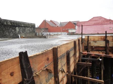 beton kerangka rumah