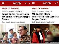 MK Bantah Istana Sudah Konsultasikan Perppu Ormas; Netizen: Bohongnya Awet Pake Formalin