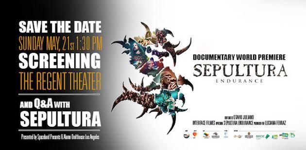 "SEPULTURA: Πρεμιέρα αυτόν το μήνα το ντοκιμαντέρ ""Sepultura Endurance"""