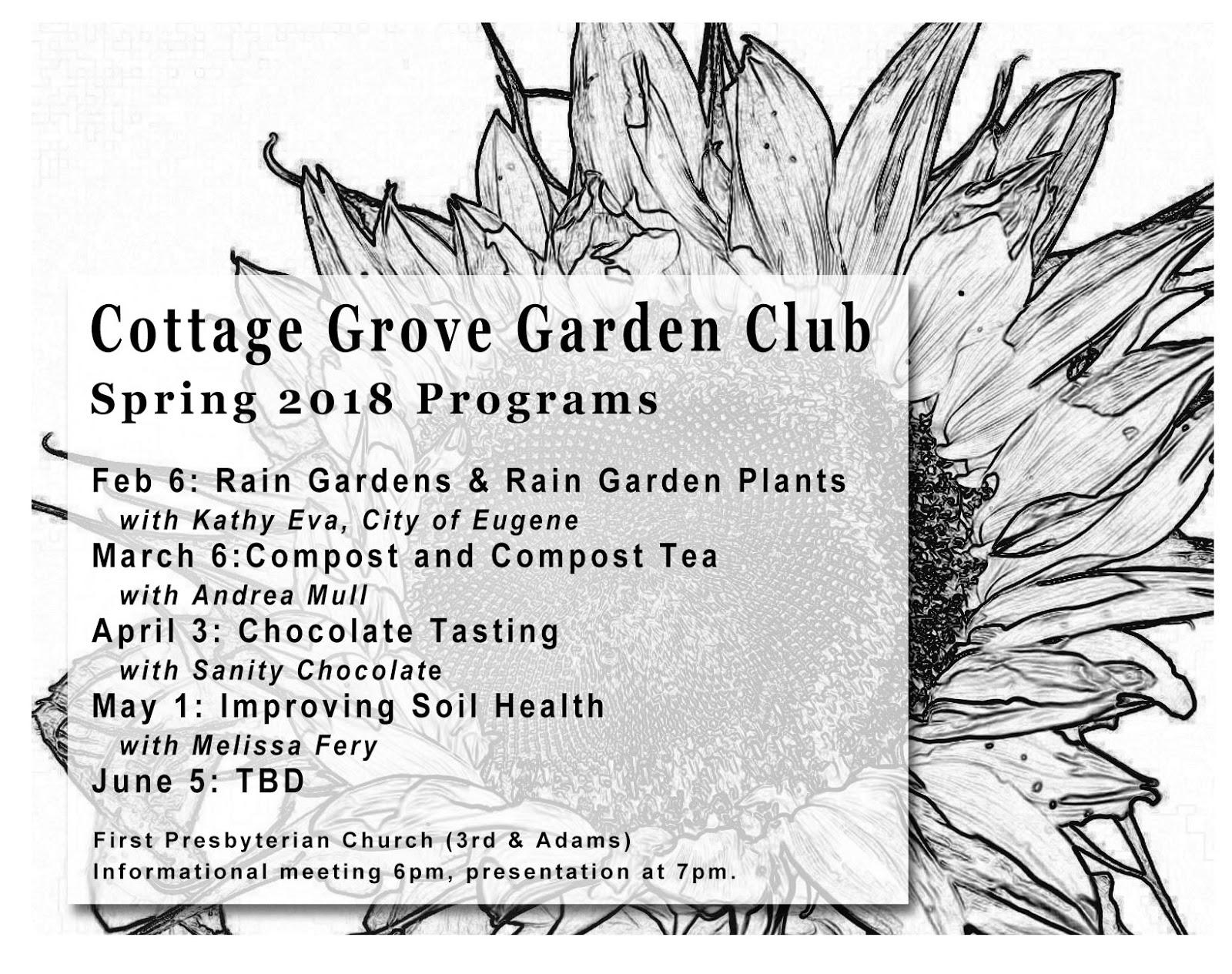 Cottage Grove Garden Club On Feedspot Rss Feed