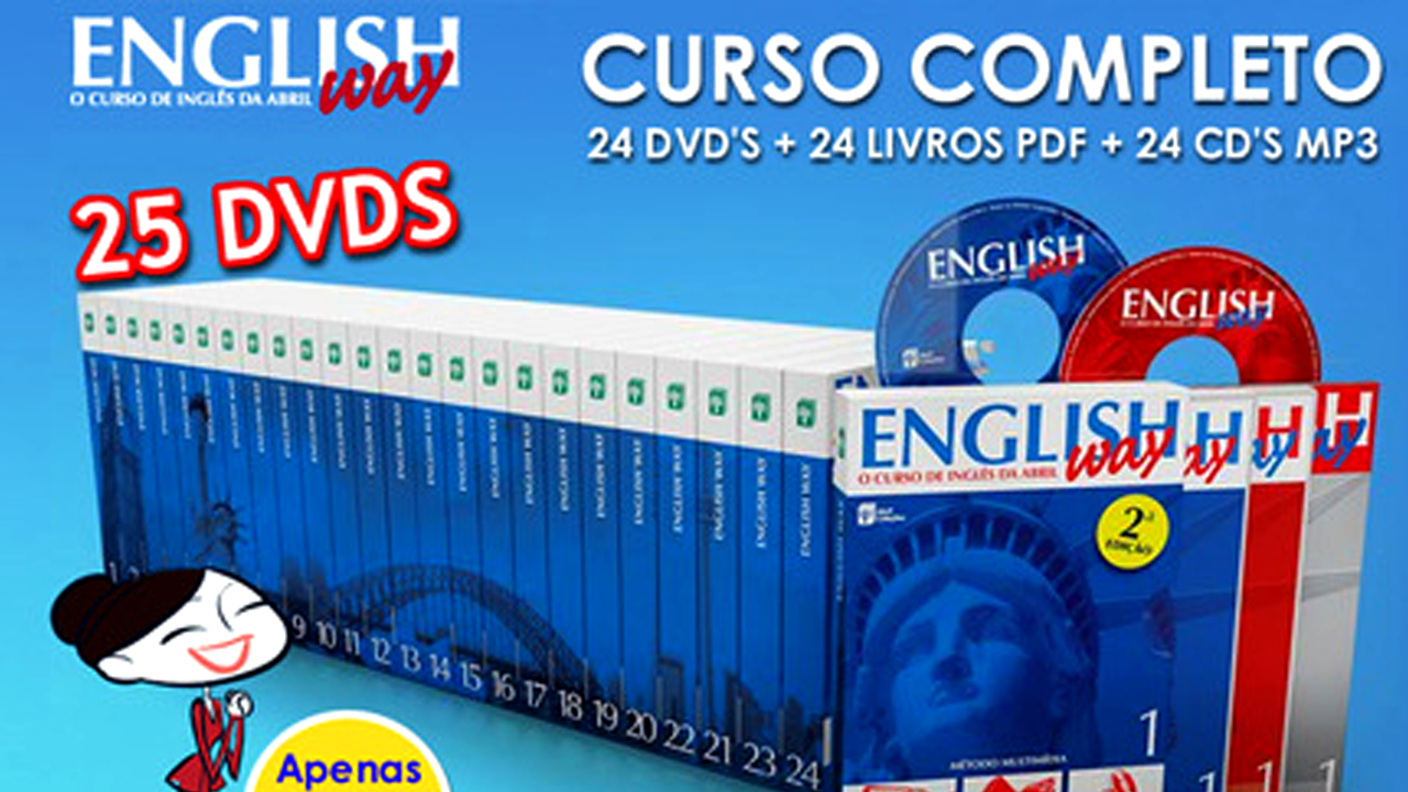 English Way - Complete series of 25 DVDs