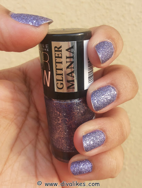 Maybelline Color Show Glitter Mania Range Shades