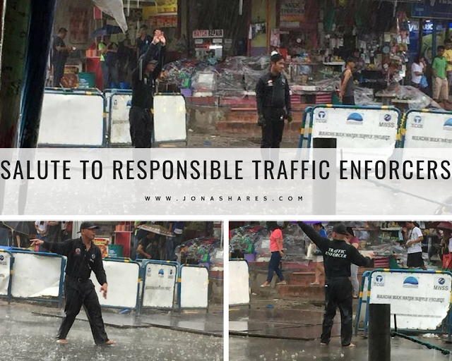 Salute to Responsible Traffic Enforcers