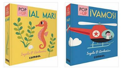 selección cuentos infantiles  día del libro 2018 pop-up al mar y vamos combel