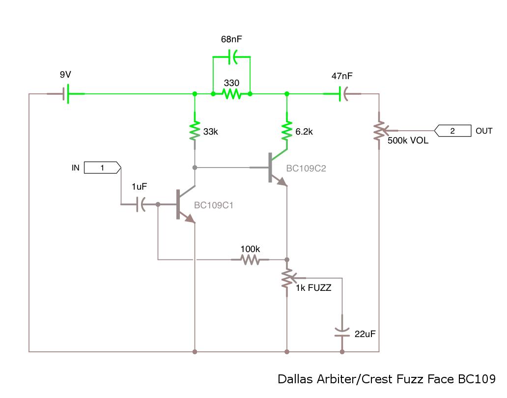 fuzz face wiring diagram of how vaccines work schematic original proco rat