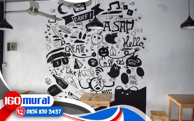 Mural art mural cafe mural indonesia for Mural untuk cafe