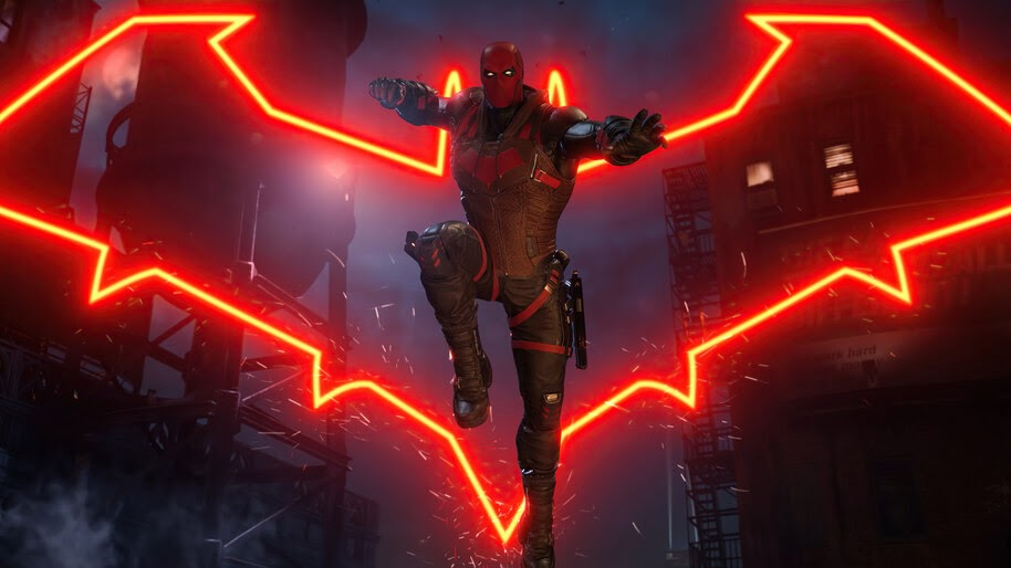 Red Hood, Gotham Knights, Logo, 4K, #3.2566
