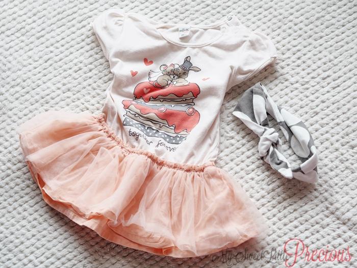 sukienka z tiulem dziewczynka
