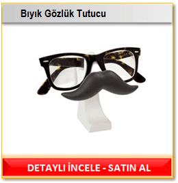 Bıyık Gözlük Tutucu