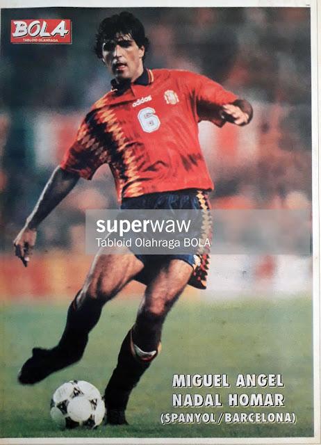 MIGUEL ANGEL NADAL HOMAR SPAIN 1997