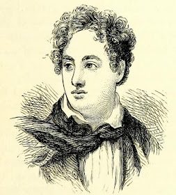 Lord Byron from Literary Celebrities published by W&R Chambers (1887)