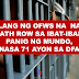 AT LEAST 71 OFWS IN DEATH ROW WORLDWIDE, 1 MORE SCHEDULED TO BE EXECUTED IN KUWAIT - DFA