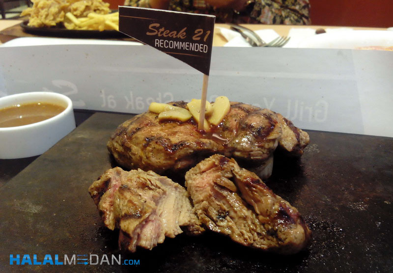 Steak 21 di Sun Plaza Medan
