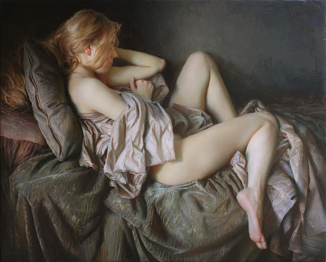 Pale Dawn - 2012. Oil on linen 53x61 cm