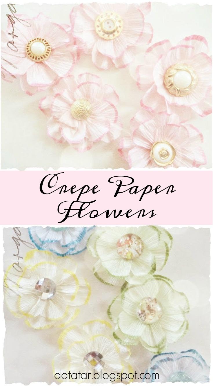 Crepe Paper Flower Tutorial Zeus And Zoe