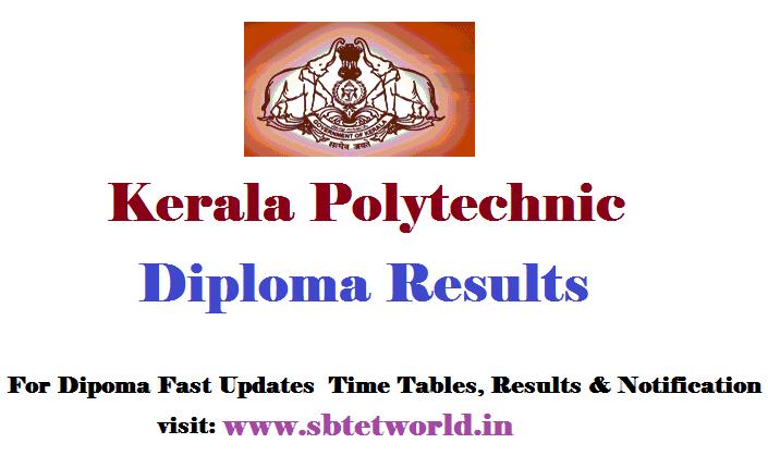 KERala diploma results, KERala diploma results 2017, KERala 2017 diploma results, KERala diploma 2017 results