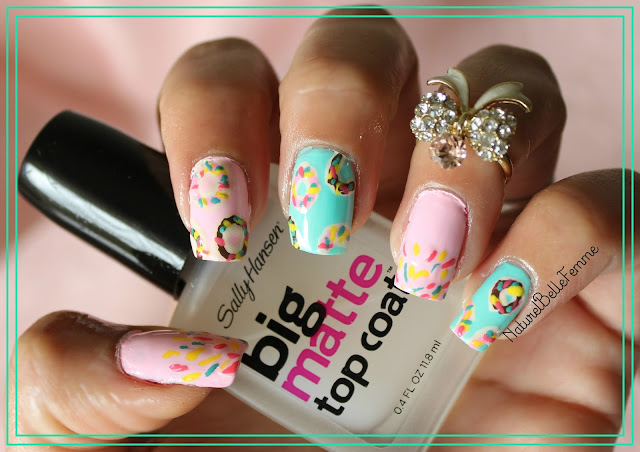 donut manicure