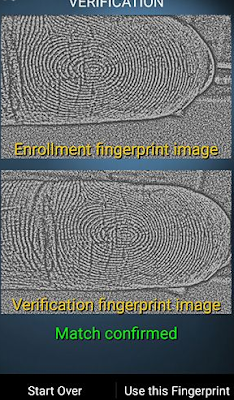 Lock Screen Fingerprint Scanner