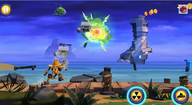 Angry Birds Transformers para iOS y Android