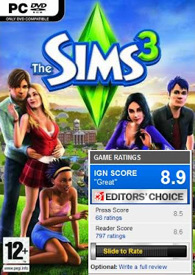 welcome the sims 3 all expansions update crack. Black Bedroom Furniture Sets. Home Design Ideas