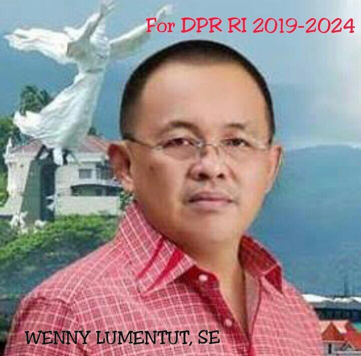 Doa Istri, Wenny Lumentut Siap Maju Calon DPR RI