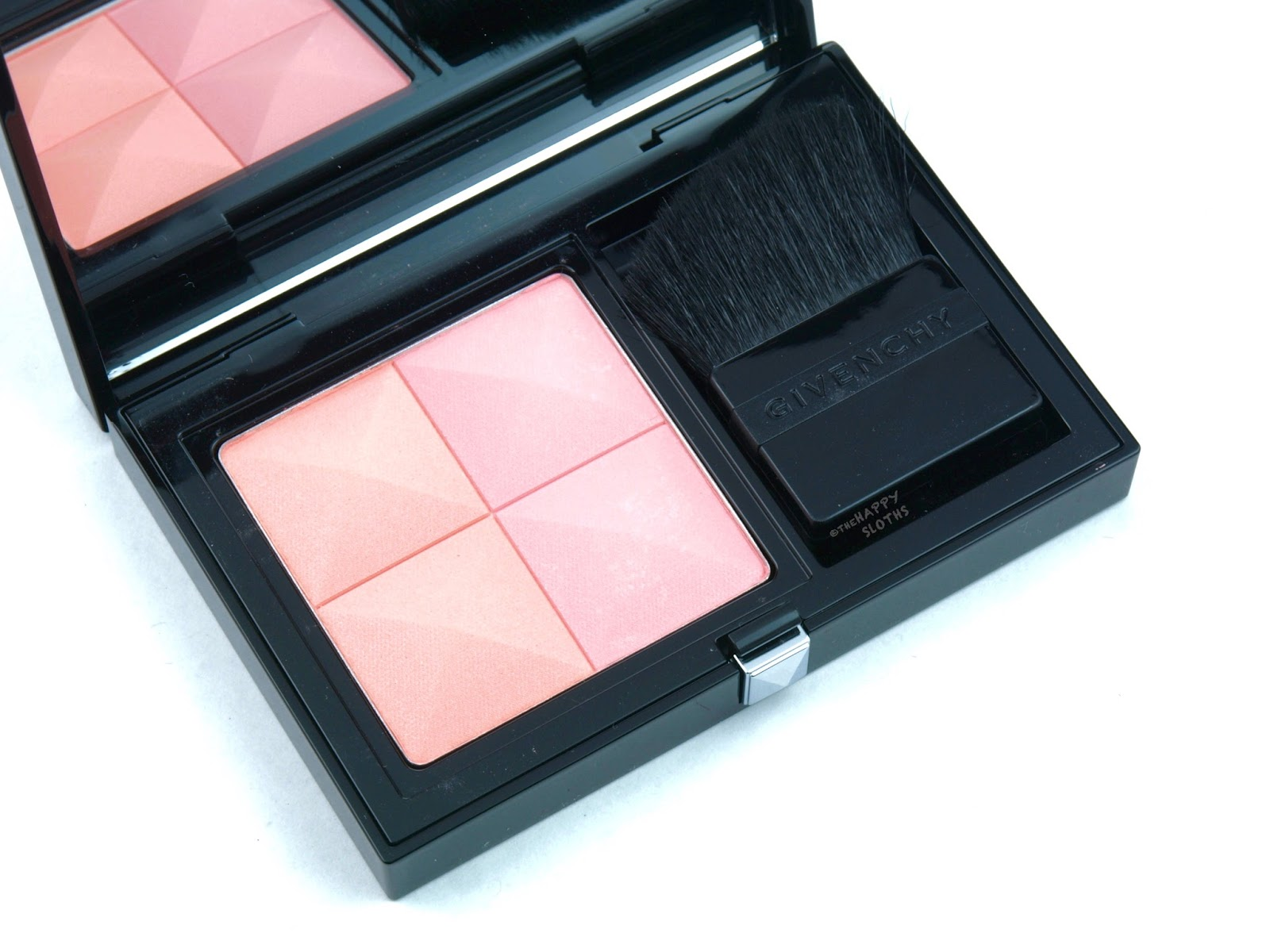 "Givenchy Prisme Blush Highlight & Structure Powder Blush Duo ""04 Rite"": Review and Swatches"