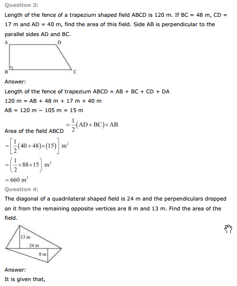 NCERT Text Book Solutions: NCERT Solutions for Class 8th