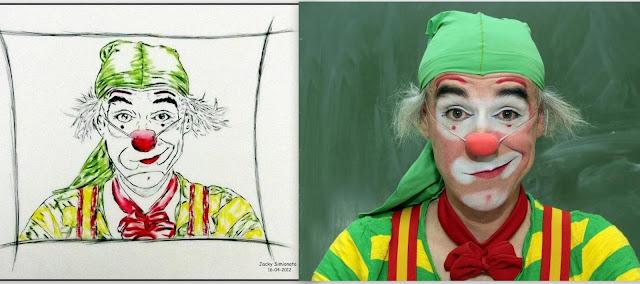 jacky simionato, circo, desenhos, guignard, arte