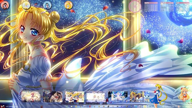Bishoujo Senshi Sailor Moon Crystal Theme Win 7 by Andrea_37