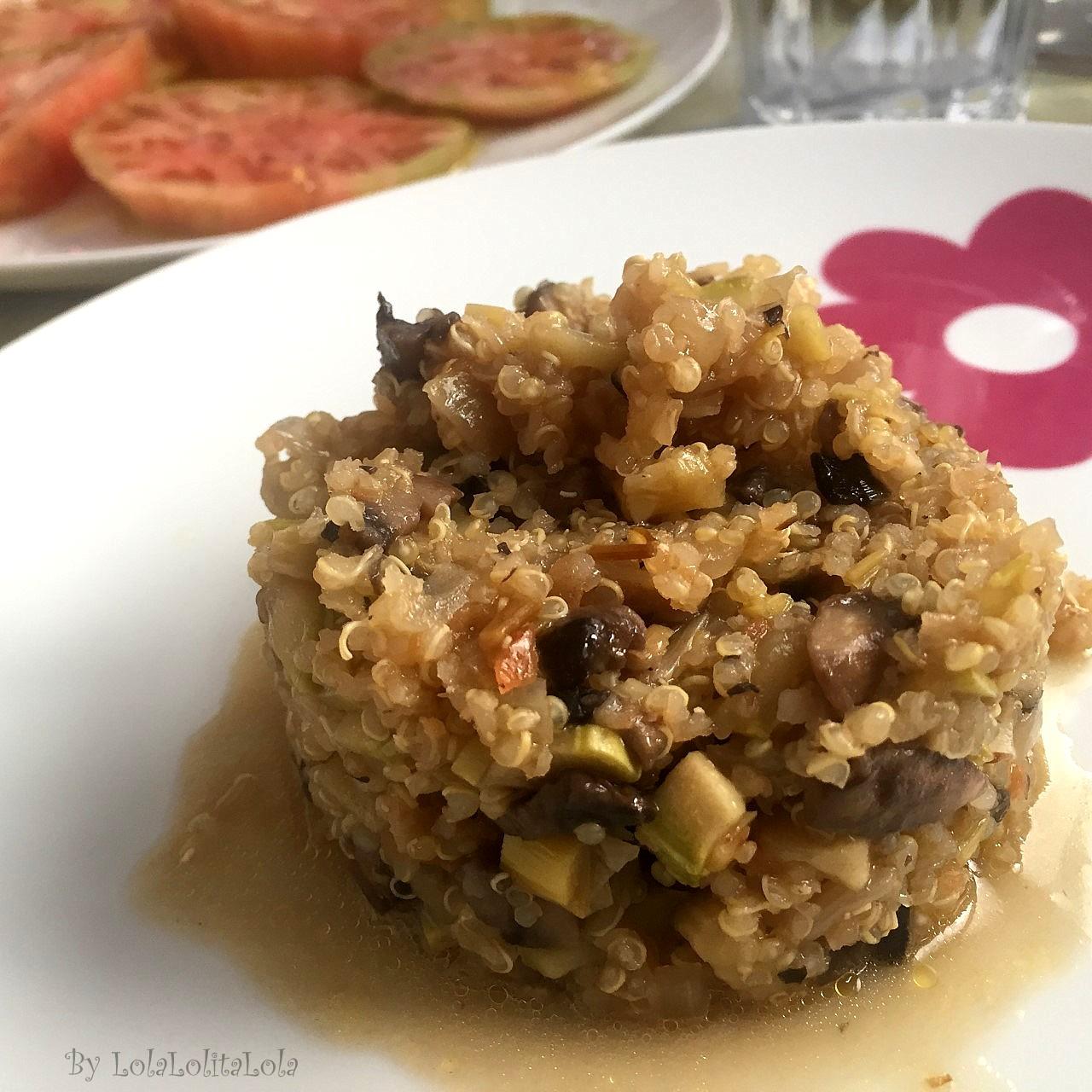 Quinoa con verduras for Cocina quinoa con verduras