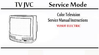 Service Mode TV JVC Berbagai Type
