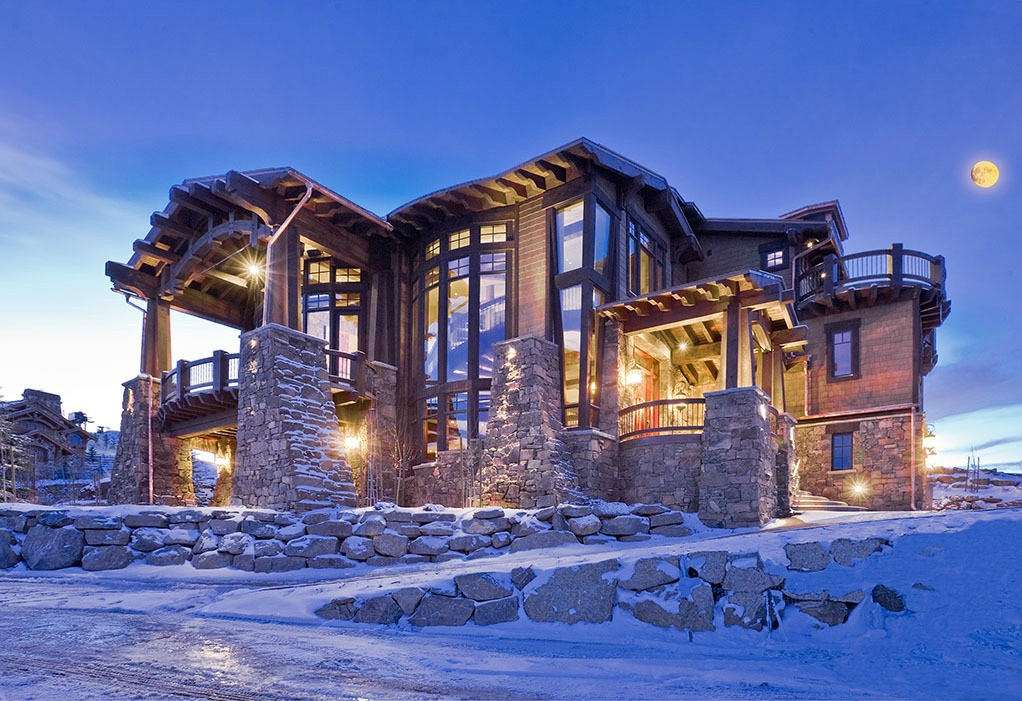 Most Beautiful Mountain Homes