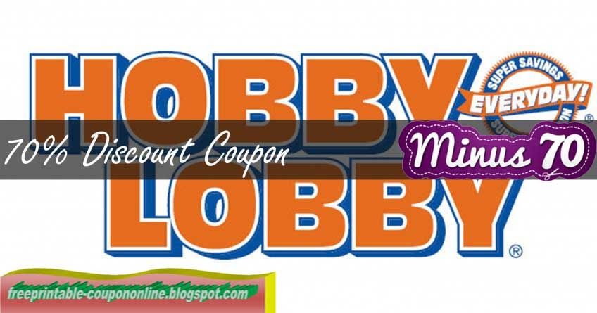 Coupon for hobby lobby online