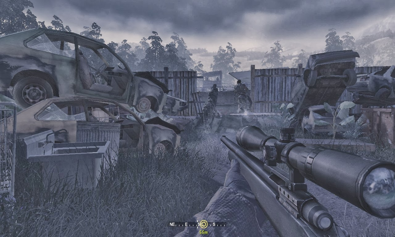 Game Pictures And Reviews Call Of Duty Modern Warfare Gameplay Screenshot Sins Of Father