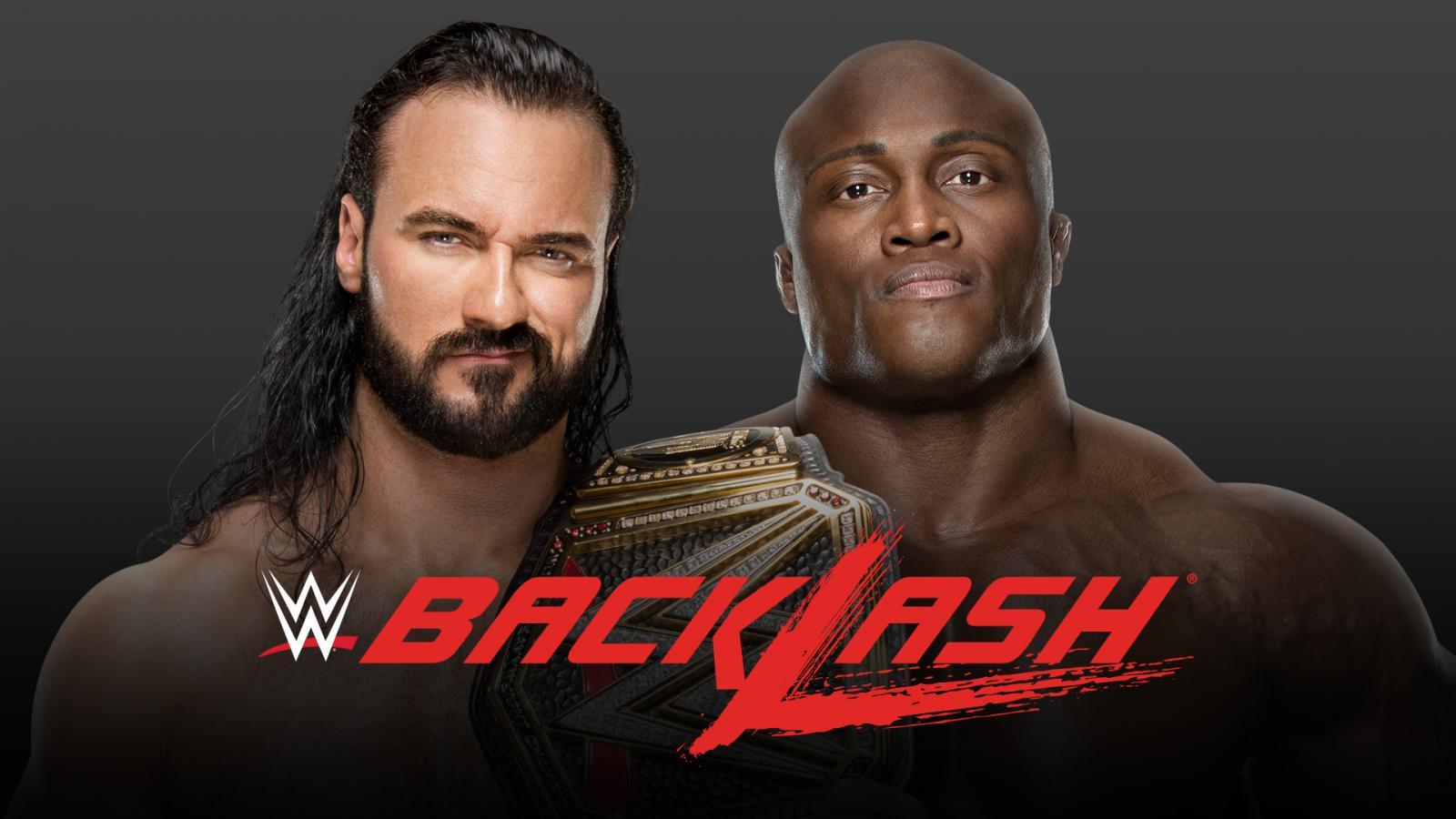 """""""Drew McIntyre vs. Bobby Lashley"""" é oficialmente anunciado para o WWE Backlash"""