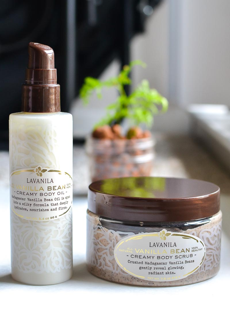 Lavanila Skincare - Vanilla Bean Creamy Body Scrub - Oil - Review