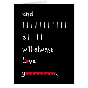And I Will Always Love You | Funny Jumbo Card