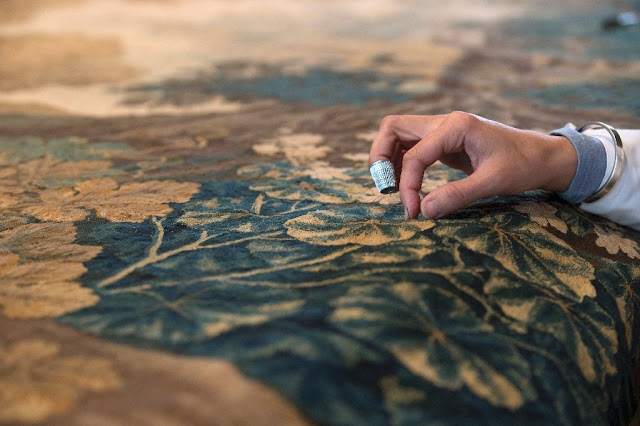Bringing ancient tapestries back to life in Belgium