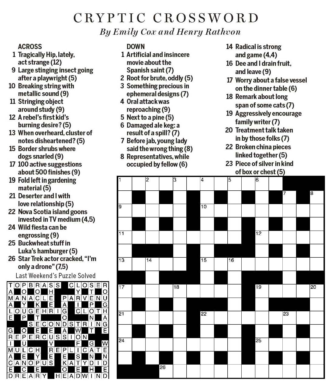 to ruin financially crossword clue