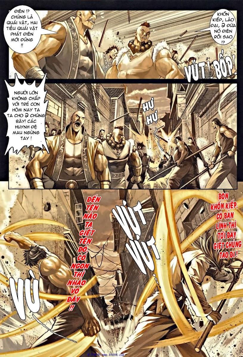 Ôn Thụy An Quần Hiệp Truyện chap 36 trang 15