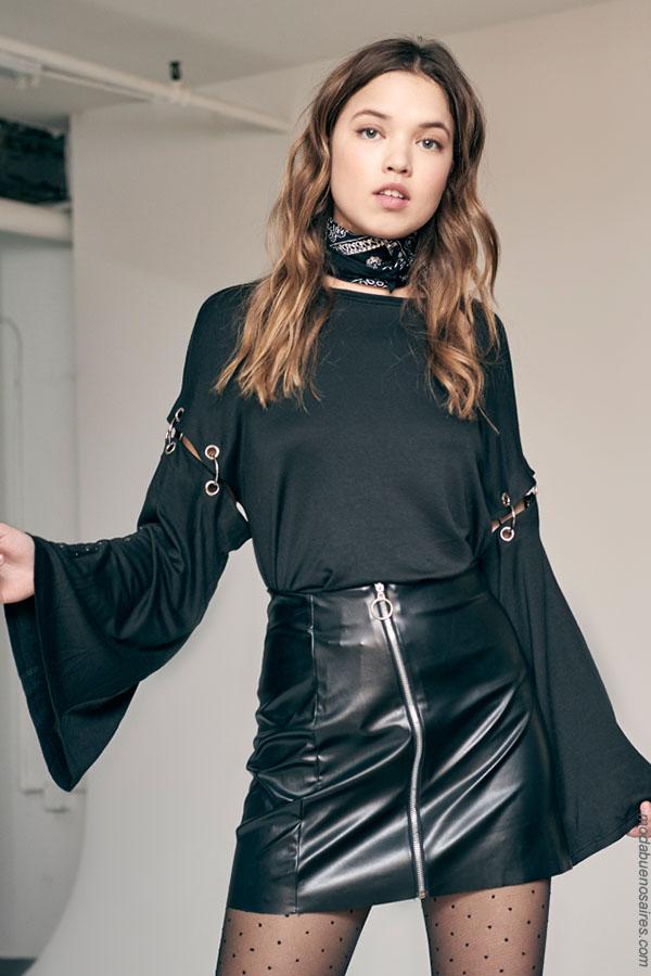 Moda invierno 2018. Looks de moda otoño invierno 2018.