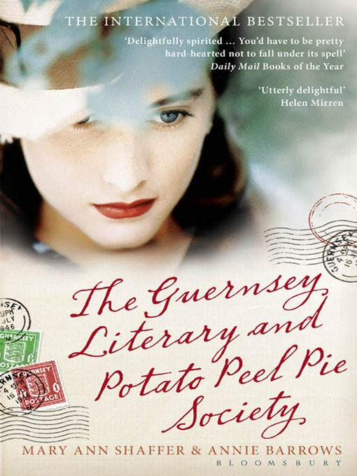 New books on my shelves: THE GUERNSEY LITERARY AND POTATO ...